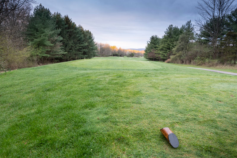 The new 9 holes of Hickory Valley