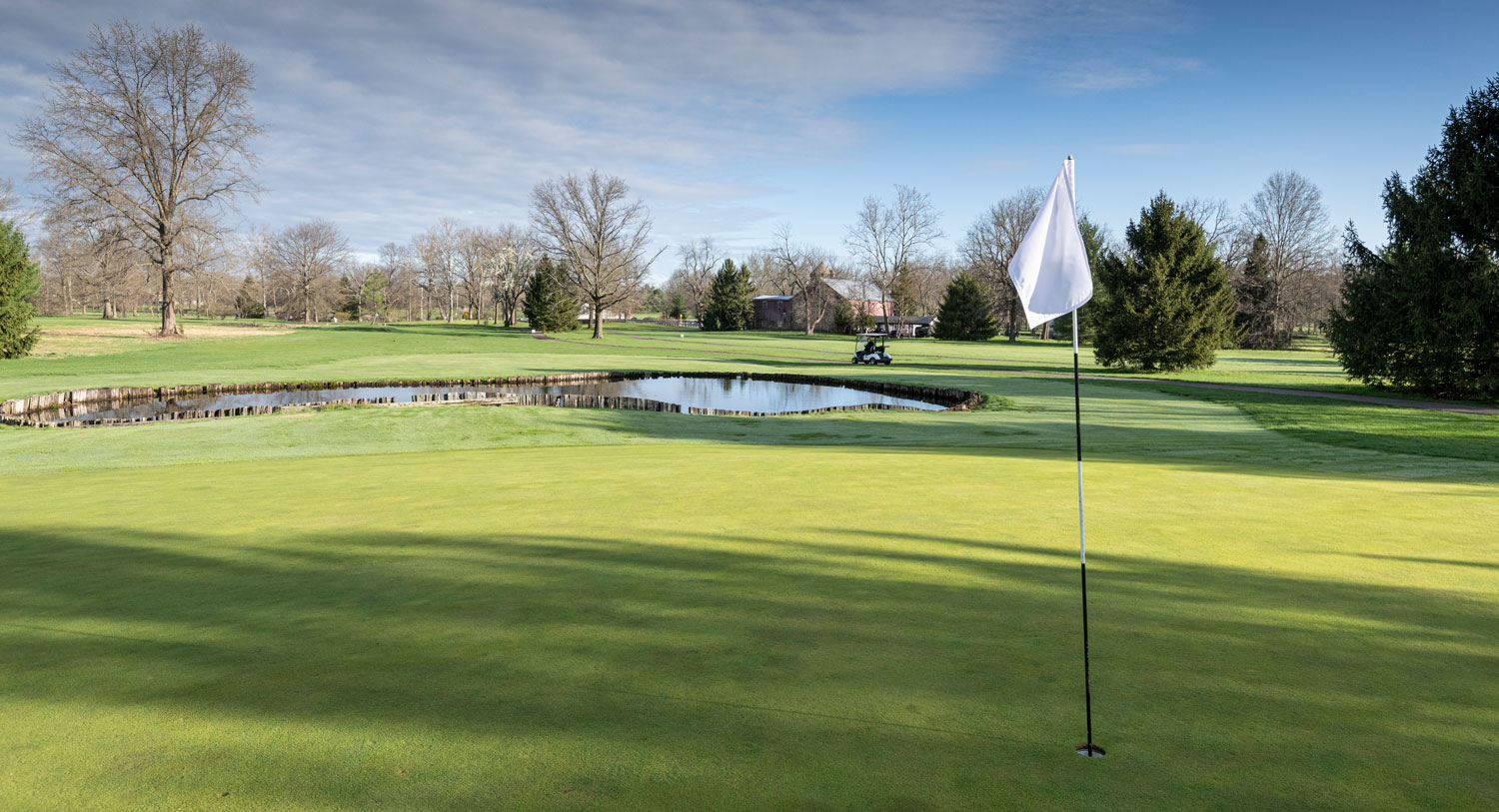 Golf landscape where you can host outings