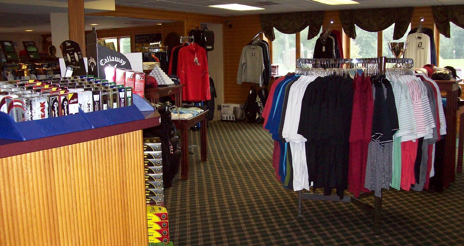 Visit the Pro Shop of Hickory Valley Golf Club